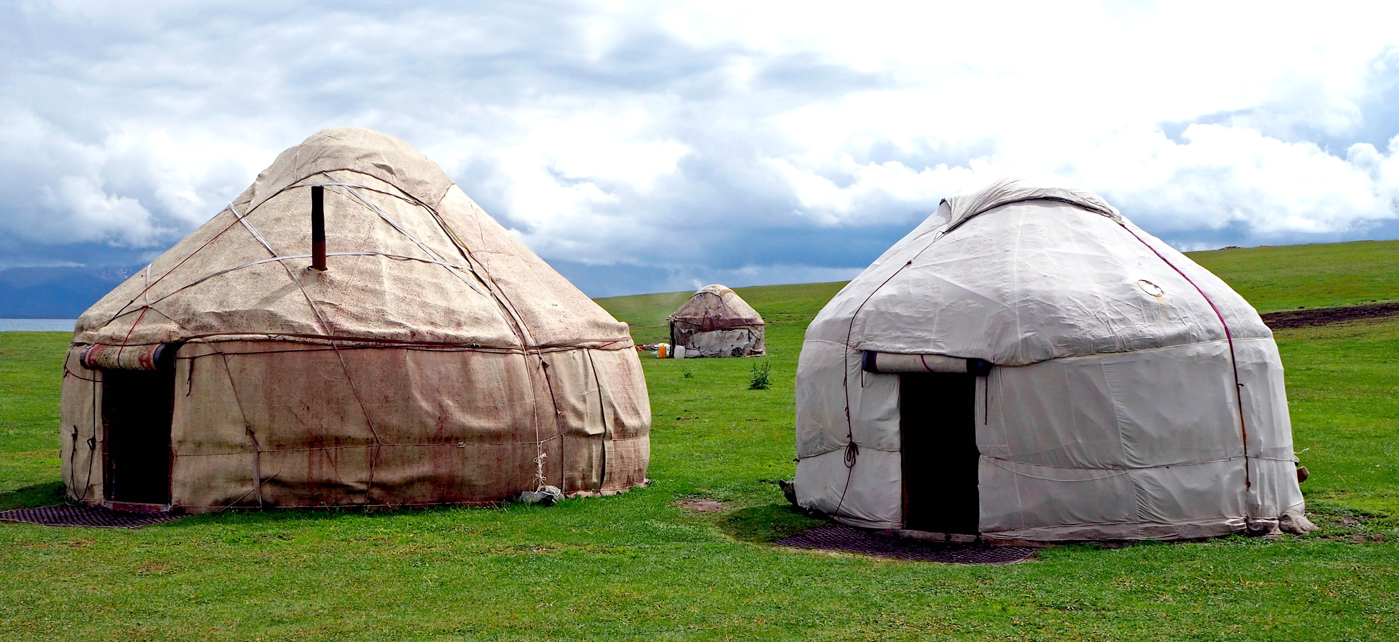Karen & Geertjan in Kyrgyzstan